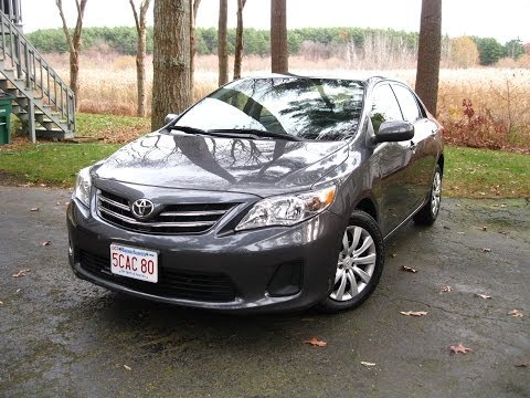 2013 Toyota Corolla In-Depth Review