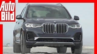 BMW X7 (2019) Test  / Details / Fahrbericht by Auto Bild