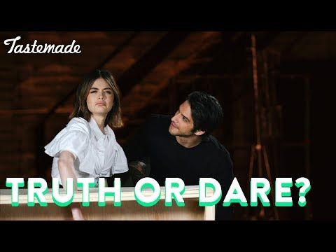 Lucy Hale & Tyler Posey Play Truth Or Dare