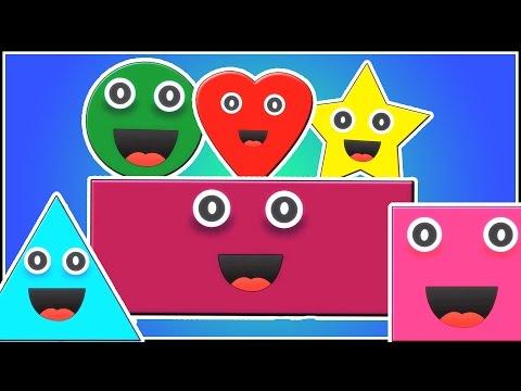 Gestalt Lied für Kinder | Kinderlied | Formen für Kinder lernen