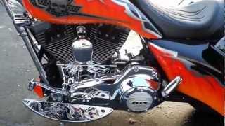 9. 2012 Harley Davidson Street Glide Custom 26 Inch Front Wheel