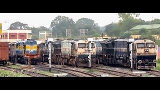 Hubli India  City new picture : Hubli Bangalore EMD Intercity Journey compilation : Indian railways !!