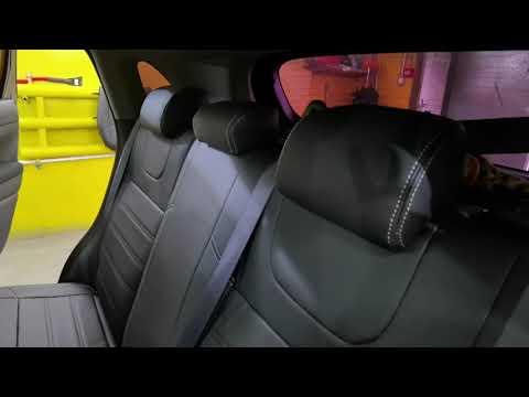 """Чехлы на Mitsubishi ASX, серии """"Premium"""" - серая строчка"""