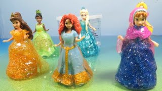 Celebnyc presents Glitter Putty Magiclip Princesses Dresses Frozen Elsa Anna Belle Tiana Merida Rapunzel review. If you cannot ...