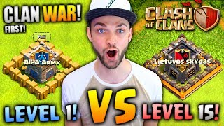 "Clash of Clans - MY FIRST EVER CLAN WAR - Can will we do!?► Find ALL my Clash of Clans videos here - https://www.youtube.com/playlist?list=PLZ53q68oHkKZR0QMhs3_hOv_ZoRt4G3itEnjoyed the video? Hit 👍 ""LIKE"" 👍 - Thank you!Hey there - I'm Ali-A! Thanks for watching one of my videos! :) This is my channel where I play ANY games I'm having fun playing to share with YOU all. Make sure you're checking out more of my videos and ""SUBSCRIBE"" to be notified every time I upload. Thanks - Enjoy the video! :D► NEW Ali-A Merch!• Store - http://AliAShop.com► Follow me!• Facebook - http://facebook.com/AliAarmy• Twitter - http://www.twitter.com/OMGitsAliA• #AliAapp (iOS) - http://tinyurl.com/9u5h3d8 • #AliAapp (Android) - http://tinyurl.com/bz8kjbs• Host your own Minecraft servers here:http://gizmoservers.com (""AliA"" 20% off)• Cheapest games - https://www.g2a.com/r/AliA• The headset I use - http://bit.ly/1dXHELh• How I record ALL my gameplay:http://e.lga.to/aSubscribe for more videos!- MoreAli-A---Video uploaded & owned by Ali-A! (PG, Family Friendly + No Swearing!)"