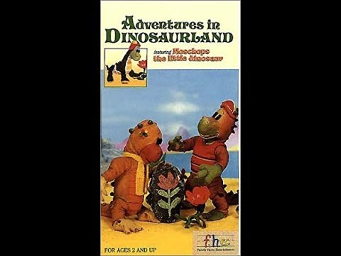 Opening To Adventures In Dinosaurland 1988 VHS