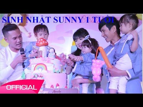 Sinh Nhật con gái Lý Hải Minh Hà - Sunny Nguyện Tuệ Minh 1 tuổi - Thời lượng: 23 phút.