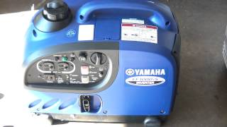 1. Yamaha EF1000is generator review operations