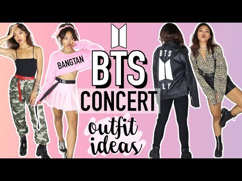 BTS (BANGTAN BOYS) CONCERT OUTFIT IDEAS! 방탄소년단  CELEBRITY INSPIRED TUTORIALS  Nava Rose