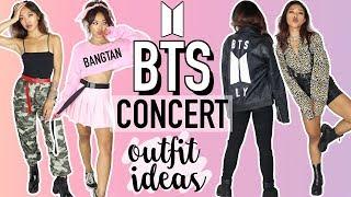 BTS (BANGTAN BOYS) CONCERT OUTFIT IDEAS! 방탄소년단  CELEBRITY INSPIRED TUTORIALS  Nava Rose