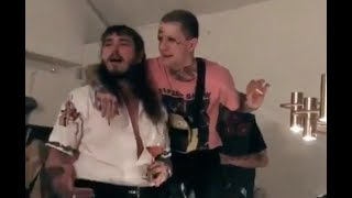 Video Post Malone Shares His Final Moments With Lil Peep MP3, 3GP, MP4, WEBM, AVI, FLV Mei 2018