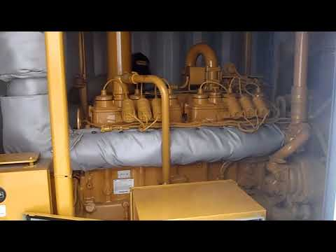 CATERPILLAR GRUPPI ELETTROGENI FISSI G3406 NA  equipment video Hw13PbnZQa4