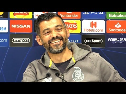 Sergio Conceicao Full Pre-Match Press Conference - Liverpool V Porto - Champions League