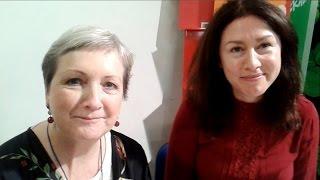 Catherine Dunne e Caitriona Lally