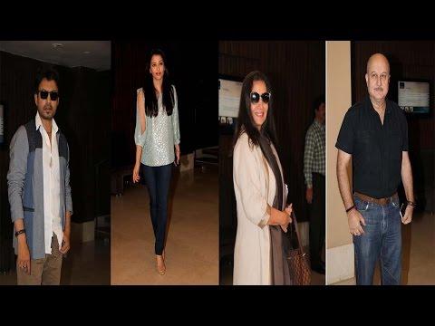 Aishwarya Rai Bachchan, Irrfan Khan & Others At Jazbaa Script Reading Session