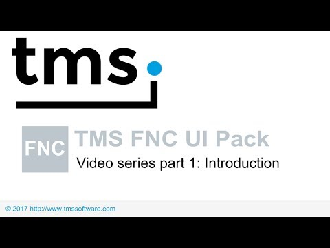 TMS FNC UI Pack Video series part 1 : Introduction