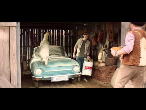 Đi ô tô dưới trang trại :3