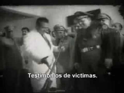 Fusilados en Cuba. Imágenes de La cabaña.