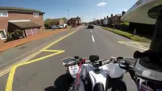 10. Yamaha Yfz450 R GoPro Hero 3+ Road Legal Quad Bike ATV Quad Raptor 700 London England United Kingdom
