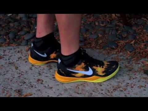 Nike Kobe 8 Sulfur Lakers ON FEET