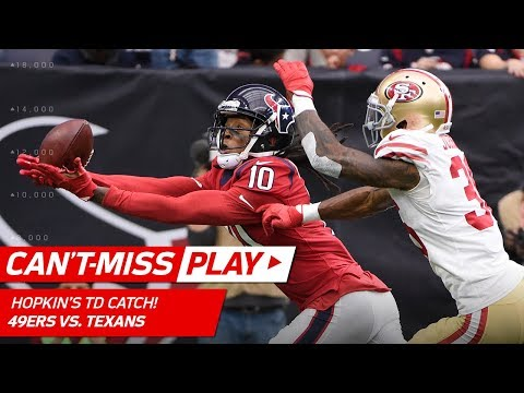 Video: DeAndre Hopkins Slides for Big TD Catch to Take the Lead! | Can't-Miss Play | NFL Wk 14 Highlights