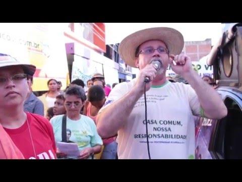 Manifestação por direito à moradia em Iguatu - CE / 10/12/2015