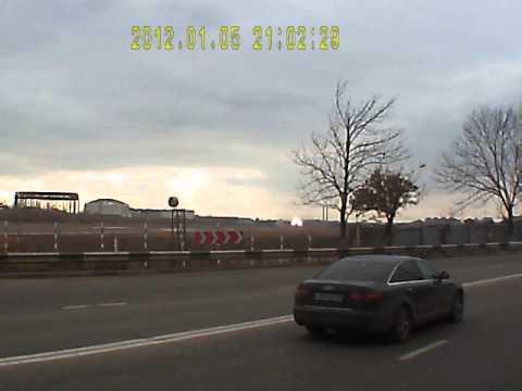 Взлёт Ил 96 с авиазавода в Воронеже (видео)