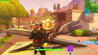 *NEW* BONUS BATTLE STAR LOCATION WEEK 6 ALL CHALLENGES GUIDE! FORTNITE TIPS AND TRICKS!