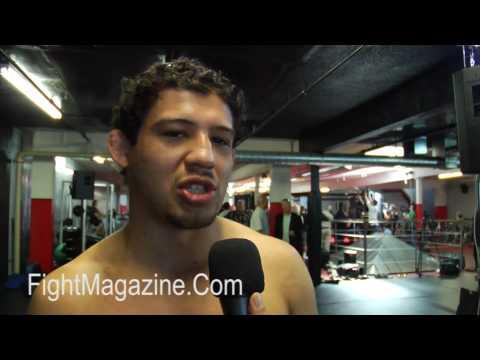 Gilbert El Nino Melendez talks getting ready to fight Shinya Aoki