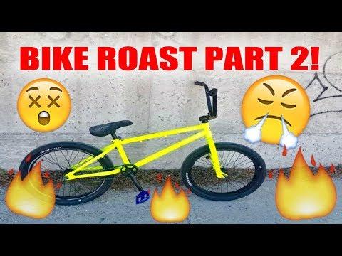 BMX BIKE ROAST PART 2! (видео)