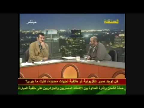 Zitout comment's about Algeria and Egypt