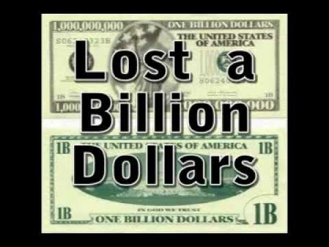 If I Lost a Billion Dollars - Song Parody- Financial Crisis Song