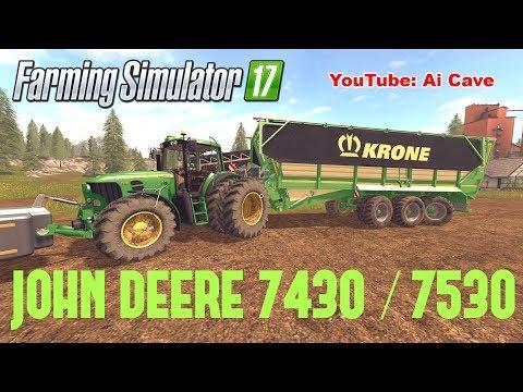 John Deere 7430/7530 v2.0