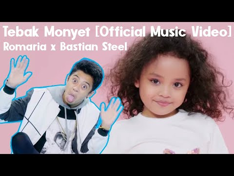 Romaria x Bastian Steel - ❓🐒 Tebak Monyet [Official Music Video]
