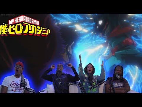 MY HERO ACADEMIA EPISODE 76 4X13 LIVE REACTION | INFINITE 100%!!!