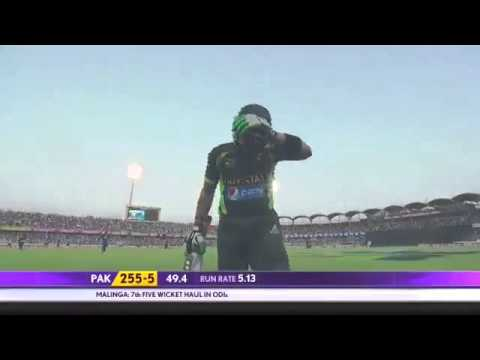 Kumar Sangakkara 97(130) vs Pakistan, 4th ODI, 2012