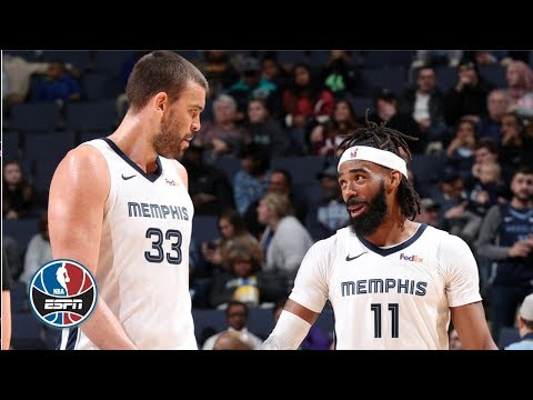 Video: Mike Conley, Marc Gasol stuff stat sheet in Grizzlies' loss amidst trade rumors | NBA Highlights
