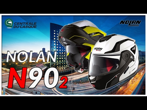 Casque modulable Nolan N90.2 - Centrale-du-casque.com