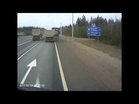 Авария в Ленинградской области