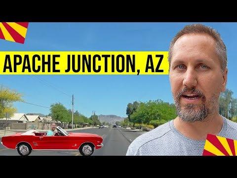 Apache Junction, AZ Driving Tour: Living In Phoenix, Arizona Suburbs