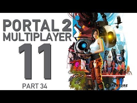 034 portal - Let´s Play Portal 2 Multiplyer zusammen mit Lukas alias Evil Laugh Entertainment. Wieder einmal begeben wir uns in das Testgelände von Aperture Science, oder...