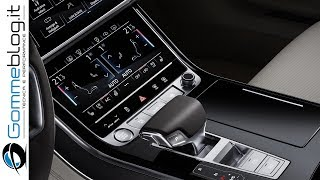 Audi A8 2018: Audi has fundamentally reengineered the A8 in its fourth generation. With its stylistically defining design, top-rate suspension solutions, touchscreen operating concept and superlative comfort, the luxury sedan demonstrates Vorsprung durch Technik right across the board. One of the top innovations is the Audi AI traffic jam pilot, which no other competitor offers.Review 2018 Audi A8 price, specs and release date New Audi A8 luxury car revealed Improved performance and efficiency First ever use of level 3 autonomous driving tech All-wheel steering improved stability and manoeuvrabilityDoyen of style: the exterior designThe Audi A8 is stylistically defining – it signals the dawning of a new design era for the entire brand. The front end with the wide, upright Singleframe grille and the fluid, muscular body symbolize sporty elegance, sophistication and progressive status. The new A8 delivers on the promise made by the Audi prologue design study. The luxury sedan possesses a powerful presence – whether in the 5.17 meter (17.0 ft) standard version or the A8 L, which has a 13 centimeter (5.1 in) longer wheelbase.The range of equipment and materials is extensive, with every detail radiating superlative bespoke quality – from the perforation in the seat upholstery to the electrically opened and closed shutters on the air vents.The classiest seat in the new Audi flagship model is in the rear right – the optional relaxation seat in the A8 L that comes with four different adjustment options and a footrest. In this seat, the passenger can warm and massage the soles of their feet on a unit with multiple settings incorporated into the back of the front-passenger seat. The new comfort head restraints complete the experience. The rear interior passengers can also control an array of functions such as ambient lighting, the new HD Matrix reading lights and seat massage, plus make private phone calls, via a separate operating unit. The rear seat remote, with its OLED di