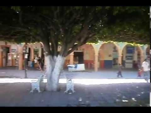 Jardín Hidalgo, Romita Gto., Mex.
