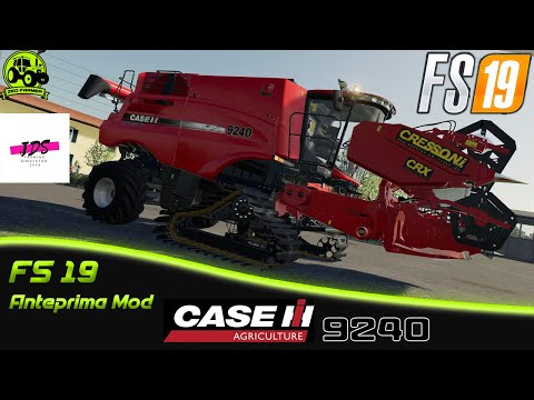 Case Axial-Flow 9240 steel tracks v2.0