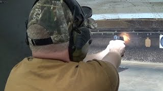 This video is to silence all those other reviews that complain about the double-action trigger pull.  It's a shooting only review, not a breakdown of the firearm (there are enough people doing those).