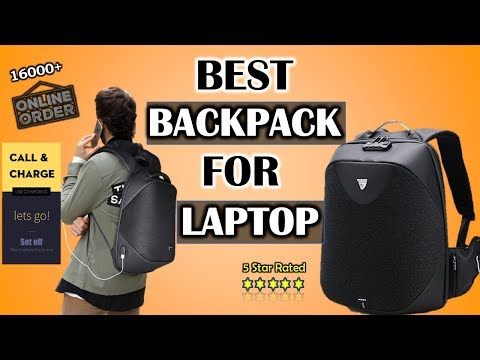 BEST BACKPACK FOR TECH 2018 | Best Backpack for Laptop | USB Charging | Waterproof | Air Cushion |
