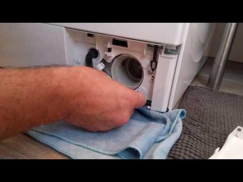 Flusensieb reinigen - Wie Sie das Sieb einer Waschmaschine säubern