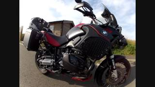 7. Custom bmw r1200gs adventure before and after walkround
