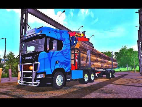 Scania S long wood v1.0