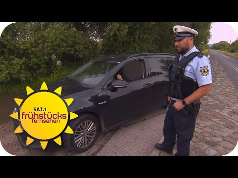Die Jagd nach Kriminellen an der polnischen Grenze  ...